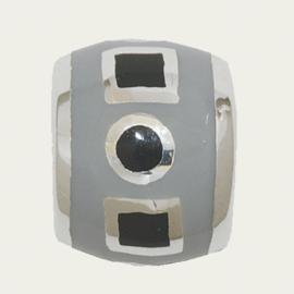 BB-317 Grijs-Zwart