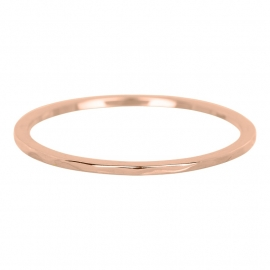 wave 0.1 cm rose goud
