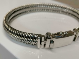 Echt zilveren armband MD10