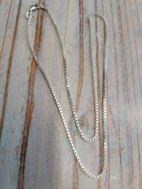 Venetiaans Collier, 1.5 mm breed, 45 cm