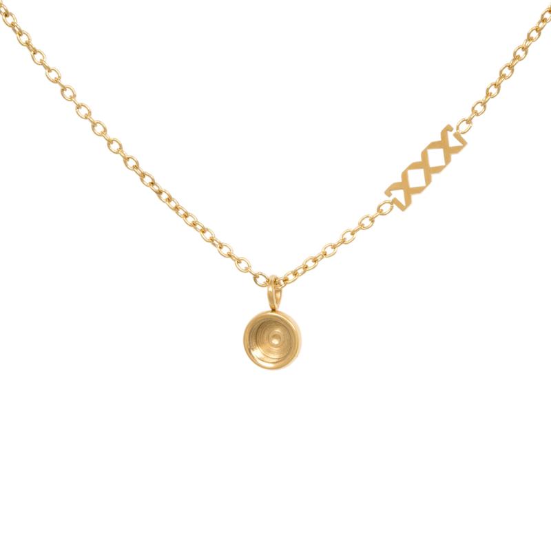 Necklace chain top part base 40 of 50  cm