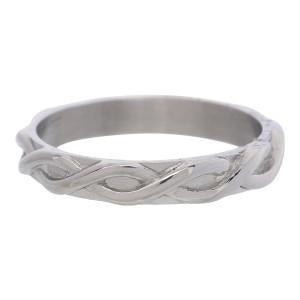 braided zilver 4 mm