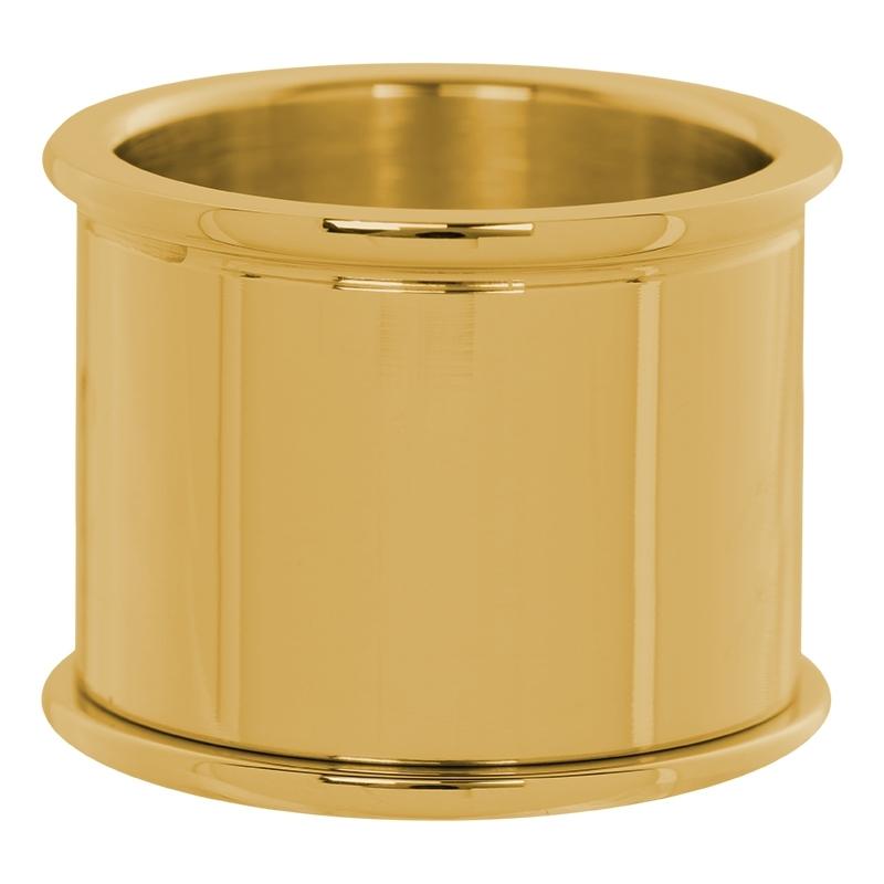 Basisring 16 MM goud