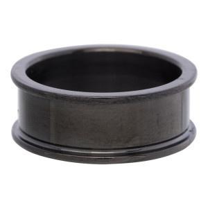 basisring 0.8 cm zwart