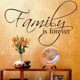 Family is Forever! Muursticker