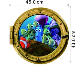 Oceaan Raam Nemo & Dory Muursticker