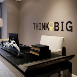 Think Big Muursticker