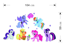 My Little Pony Muurstickers