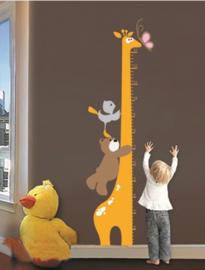 Grote Giraf Muursticker