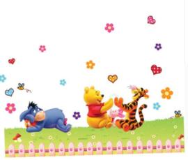 Winnie de Pooh & Vriendjes Muurstickers