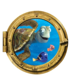 Oceaan Raam Nemo, Dory & Sam Muursticker