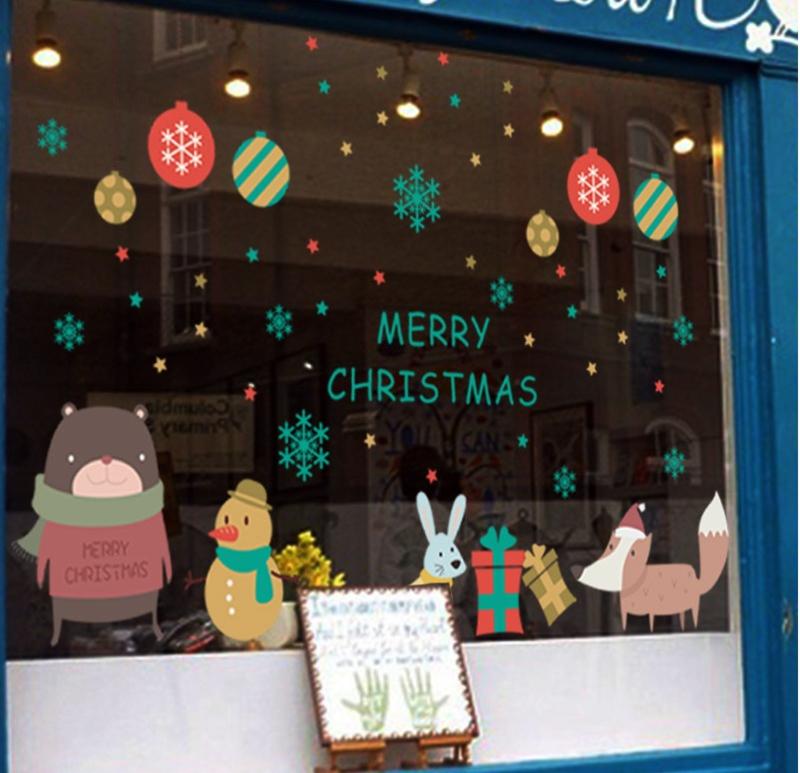 Merry Christmas Muur Sticker