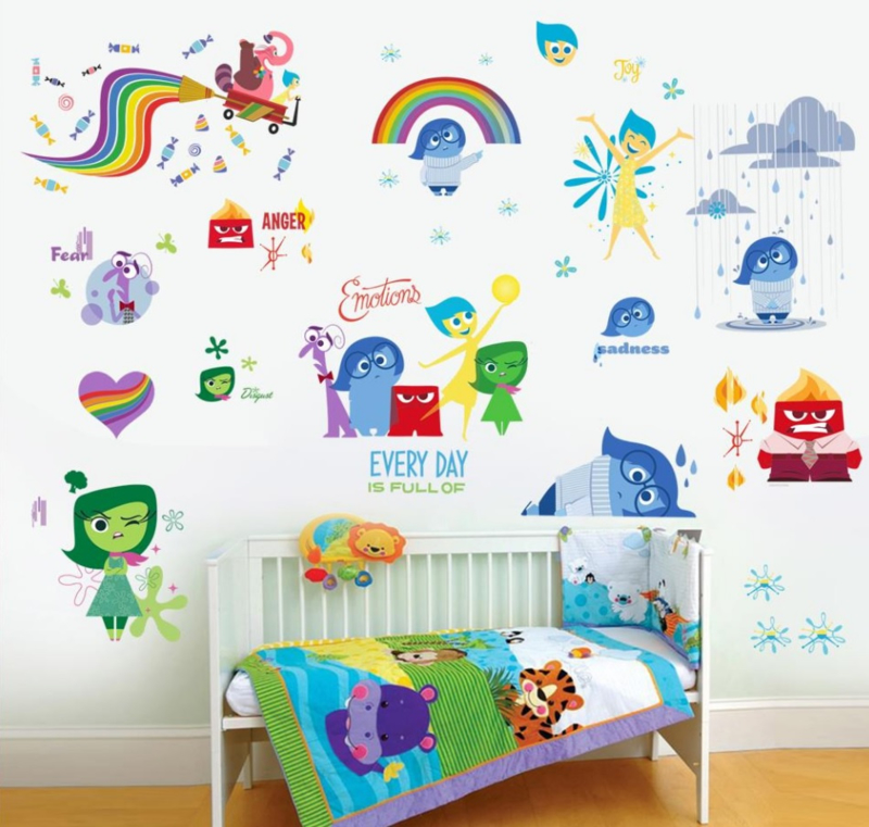 Inside Out Muurstickers