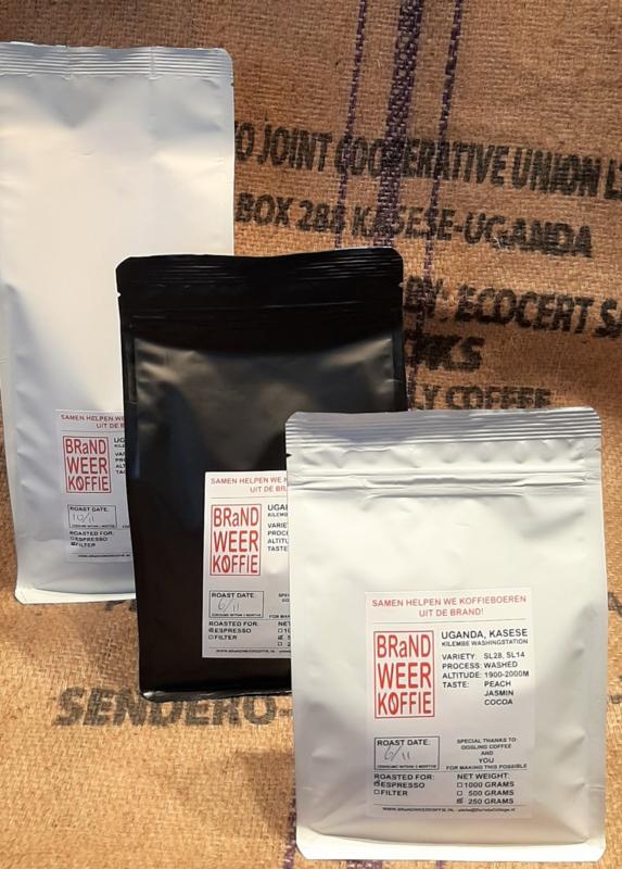 Koop gebrande koffie - per kilo