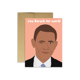Party Mountain Paper - Barack My World
