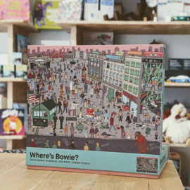 Where's Bowie? - Puzzle - David Bowie in Berlin