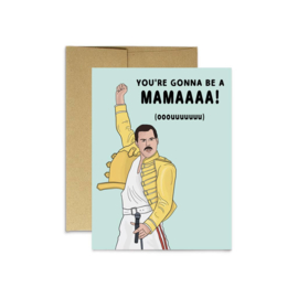 Party Mountain Paper - Freddie New Mama