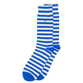 Alfredo Gonzales Sokken - Harbour Stripes Blue