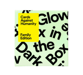 Cards Against Humanity - Family Edition - Glow in the Dark Box