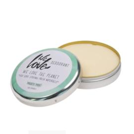 We Love The Planet - Deodorant Blik Mighty Mint