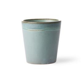 HKliving - Ceramic 70's Coffee Mug - Moss (ACE6046)