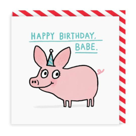 Ohh Deer - Happy Birthday Babe