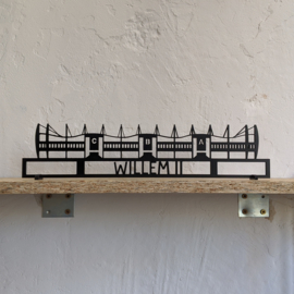Shapelab - Willem II / Koning Willem II Stadion (40cm)
