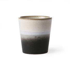 HKliving - Ceramic 70's Coffee Mug - Rock (ACE6043)