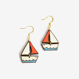 Materia Rica - Dreamy Boat Earrings
