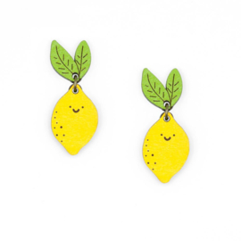 Materia Rica - Mrs Lemon Earrings