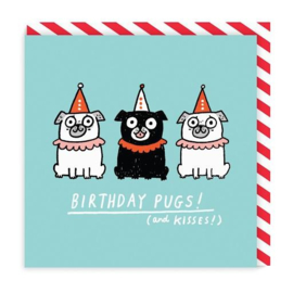 Ohh Deer - Birthday Pugs