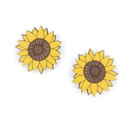 Materia Rica - Big Sunflower Earrings