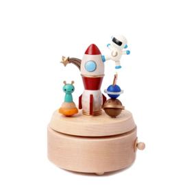 Wooderful Life - Music Box - Astronaut & Aliens (#13)