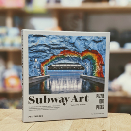 Printworks - Subway Art Puzzle - Rainbow