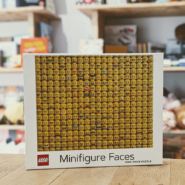 LEGO - Minifigure Faces Puzzle