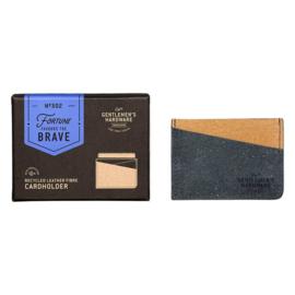 Gentlemen's Hardware - Recycled Leather Cardholder