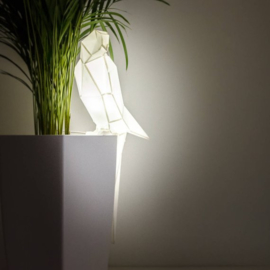OWL Paperlamps - Parrot - Cotton White