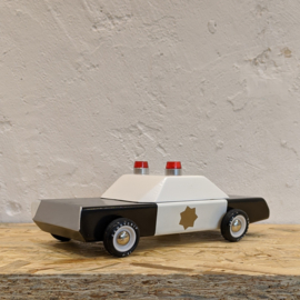 Candylab Toys Houten Auto - Police Cruiser