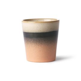 HKliving - Ceramic 70's Coffee Mug - Tornado (ACE6861)