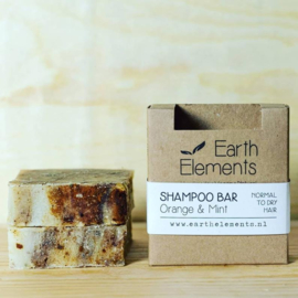 Earth Elements - Shampoo Bar Orange & Mint