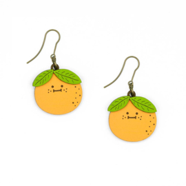 Materia Rica - Mrs Orange Earrings