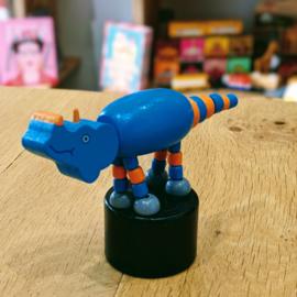 Jack Rabbit Creations - Pushpuppet Dino Triceratops