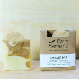 Earth Elements - Shower Bar Orange Turmeric