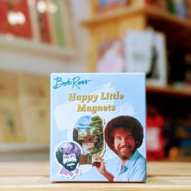 Bob Ross - Happy Little Magnets
