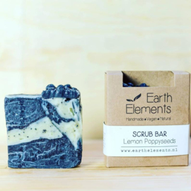 Earth Elements - Scrub Bar Lemon Poppyseeds