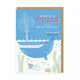 Ohh Deer - Whale Of A Birthday