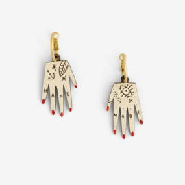 Materia Rica - Hand Earrings