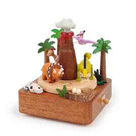 Wooderful Life - Music Box - Vulcano & Dinosaurs (#48)