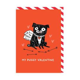 Ohh Deer - My Puggy Valentine
