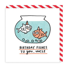 Ohh Deer - Birthday Fishes Uncle